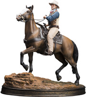 John Wayne on Horse Statue 1:6 Scale Old & Rare by Infinite Statue Sideshow