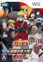 Naruto Shippuden Gekitou Ninja War SPECIAL Wii Takara Tomy Nintendo Wii Japan