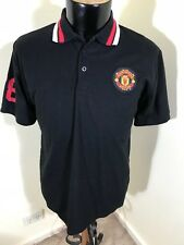 Manchester United Officially Licensed Mens s/sl Polo Shirt - Size L No 78