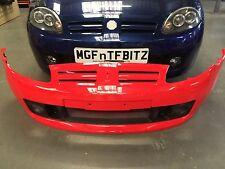 MG TF GENUINE FRONT BUMPER BRAND NEW  - RED - DPC000771LML