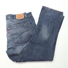 Levi's 505 Womens Size 12 Regular Medium Wash Mid-Rise Straight Leg Denim Jeans