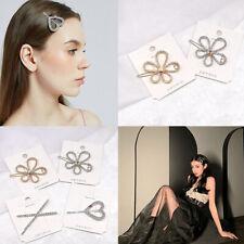 Fashion Metal Hair Clip Women Girls Pin Bridal Hairpin Barrette Hair Accessories