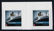 Canada 2747 Gutter Pair MNH Empress of Ireland, Ship