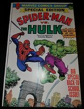 SpiderMan vs. the Hulk Columbus Dispatch Giveaway (1979) #1 NM to NM+ 9.4 to 9.6