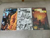 Rising Stars #1 3 Comic Lot Black White Sketch Variant WW #9 Dynamic Forces NM