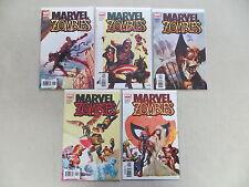 Marvel Zombies 5 Número Comic Juego 1-5 MARVEL Kirkman RARO 1st Pósters FIRMADO