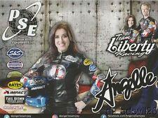 "2017 Angelle Sampey Team Liberty Racing ""1st issued"" Victory Psm Nhra postcard"