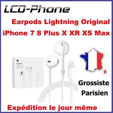Écouteurs Earpod Original iPhone 7 8 Plus XR XS Max Lightning Répondre Contrôle