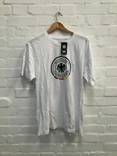 Germany Football Men's DFB Large Logo T-Shirt - 3XL - White - New