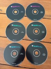 Lot of 6 Liquid Library Royalty Free Stock Image Photography Media CDs 2005-6