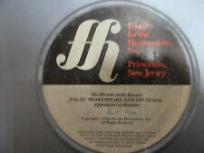16mm HISTORY OF DRAMA-SHAKESPEARE & HIS STAGE..HAMLET-1975 - Documentary film.