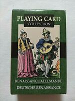 CARTE DA GIOCO GERMAN RENAISSANCE LO SCARABEO MAZZO POKER PLAYING CARDS NEW