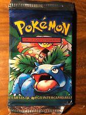 Rare Sealed Unopened Base Set Pokemon Booster Pack (Spanish)