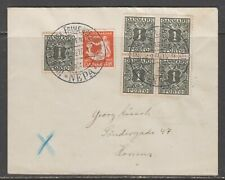 Denmark 1936. Domestic printed matter cover with exhebition canc. Local rate.