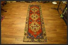 Showpiece Semi Antique 3x10 Anatolian Turkish Oriental Runner Rug