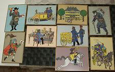 """verschiedene Postkarten - Historische Motive """"500 Jahre Post"""" sehr guter Zustand"""