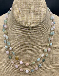 Barse Spring Fling Necklace- Mixed Stones- Sterling Silver- NWT