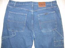 Sean John 52 Actual Size 47 X 32 Big & Tall Baggy Loose Zipper Fly Men's Jeans