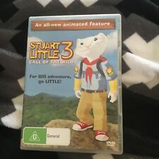 STUART LITTLE 3 CALL OF THE WILD DVD. EX RENTAL.