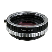 Excell+1 Canon EOS (EF) Lens to Sony E-mount Cameras, W/ Light Gathering Optics