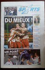 b)La voix des sports 16/12/2002; Coupe de France Lambres remets ça/ Open Touquet