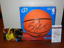 ZACH LAVINE  Chicago Bulls Autographed Signed NBA Basketball JSA WITNESS 1