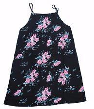 Vans MARIE II Womens Spaghetti Adjustable Strap Dress Small Summer Rose NEW 2017