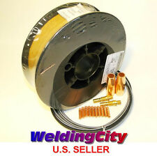 """MIG Gun Accessory Kit & Welding Wire ER70S-6 11-lb 0.035"""" for Lincoln Magnum100L"""