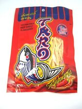 TARO FISH SNACK THAI SNACK 6x32 Grams NO FAT HOT CHILLI FLAVOURED From THAILAND