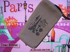 Mon Ami Je t'aime Paris, Canvas  Paris  Pencil Pen Case,Cosmetic Bag + FREE GIFT