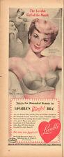 1952 Vintage ad for Lovable's Ringlet Bra Illustrator Roy Johnson (052213)