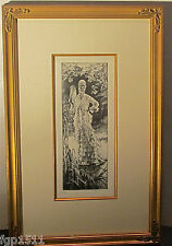 """James Tissot  """" Pintemps Spring""""  Etching and Drypoint : Artist Proof"""