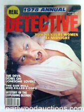 """Real Detective"" Winter 1978 Bonnie & Clyde - High Grade"