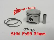 Kolben passend für Stihl FS55 34mm NEU Top Qualität