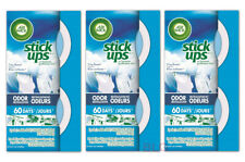 Air Wick Stick Ups Air Freshener CRISP BREEZE Scent 3Pack House Room Car Cleaner