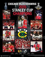 Chicago Blackhawks 2015 Stanley Cup Championship Picture Plaque