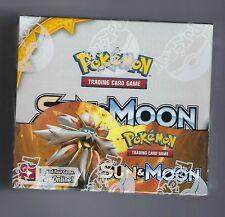 Pokemon Tcg el sol y la Luna Booster Inglés Caja Sellada