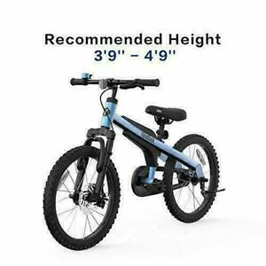 Segway 18 inch Blue Kid's Bike for Boys and Girls by Ninebot with Kickstand