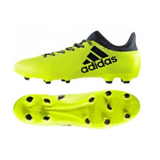 1c0d34320 NIB ADIDAS S82366 MEN S X 17.3 FG FIRM GROUND SOCCER SHOES SOLAR YELLOW INK