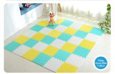 EVA Foam Interlocking Exercise Play Mat Customized Colors Floor Tiles for Kids