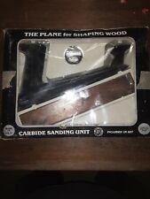 Vintage Master Mechanic Carbide Plane Set-New Old Stock- Still In Original Box