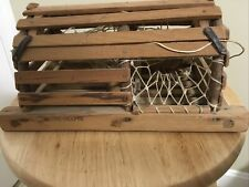 LOBSTER TRAP CRATE Small Maine Crafts By Alfred Norton Vintage