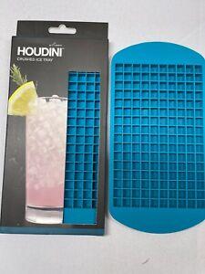 (2) Houdini Ice Mold Blue Crushed Ice Tray 1 NIB and 1 Opened