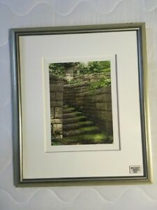 MARTHA STEWART OPEN EDITION GICLEE PHOTOGRAPHIC PRINT WITH CERTIFICATE