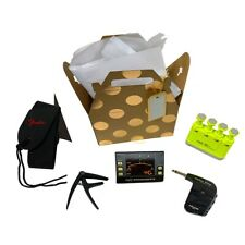 Gift Kit, Strap, Metronome, Tuner, Capo, Finger exerciser, Guitar Plug Headphone