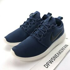 Nike Roshe Two 2 Men's 10 Midnight Navy Casual Sneakers 844656-400 New