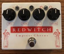 Red Witch Empress Chorus Vibrato Guitar Effect Pedal