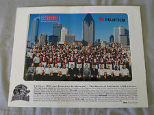 Original CFL Montreal Alouettes 1999 Official Team Photo