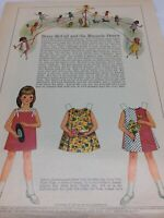 1967 VINTAGE BETSY MCCALL and the MAYPOLE DANCE MAY DAY PAPER DOLLS UNCUT UNUSED
