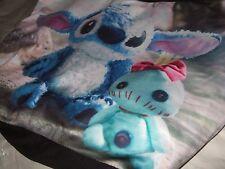Cute Nwt Lilo And Stitch Scrump Alien Hawaiian Disney Photo Hobo Tote Bag Purse